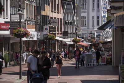 Das Foto zeigt die Einkaufsstraße in der Altstadt. Foto: Stadt Recklinghausen