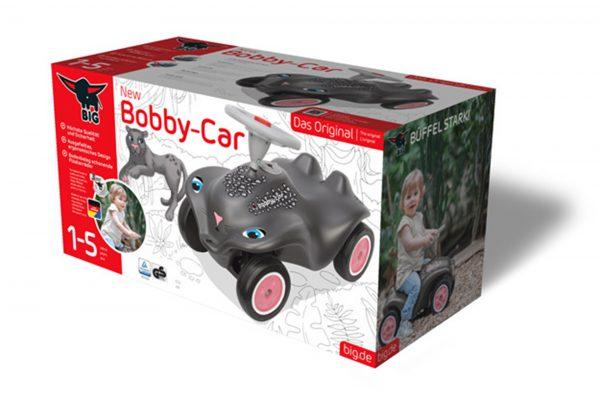Neu gestaltete Bobby-Car Verpackung für die BIG-Spielwarenfabrik GmbH. Foto: Crosscreative