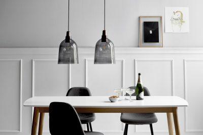 Leuchten über einem Esstisch von click-licht.de. Foto: click-licht.de