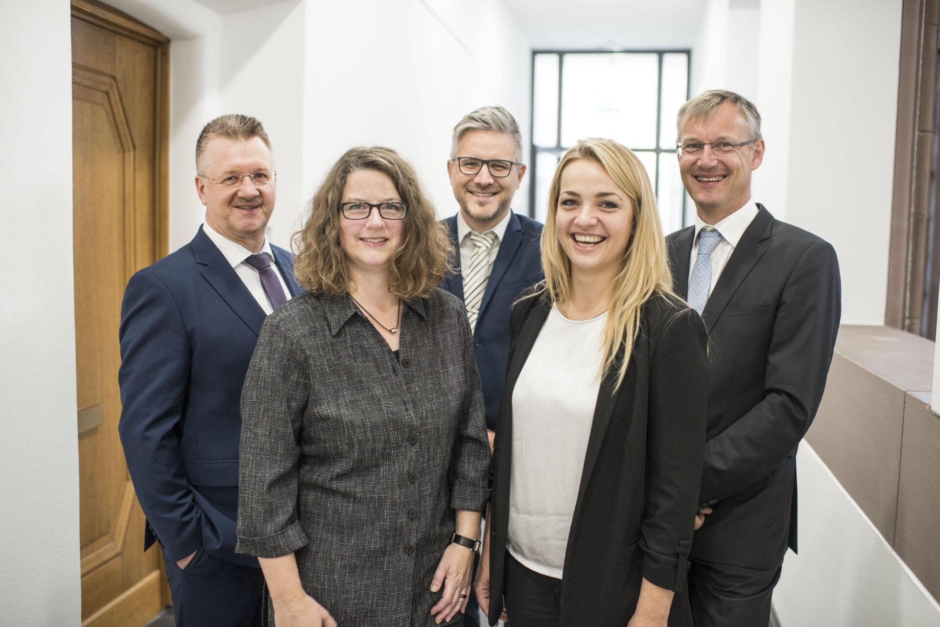 Das Team der Wirtschaftsförderung Recklinghausen. Foto: Stadt Recklinghausen