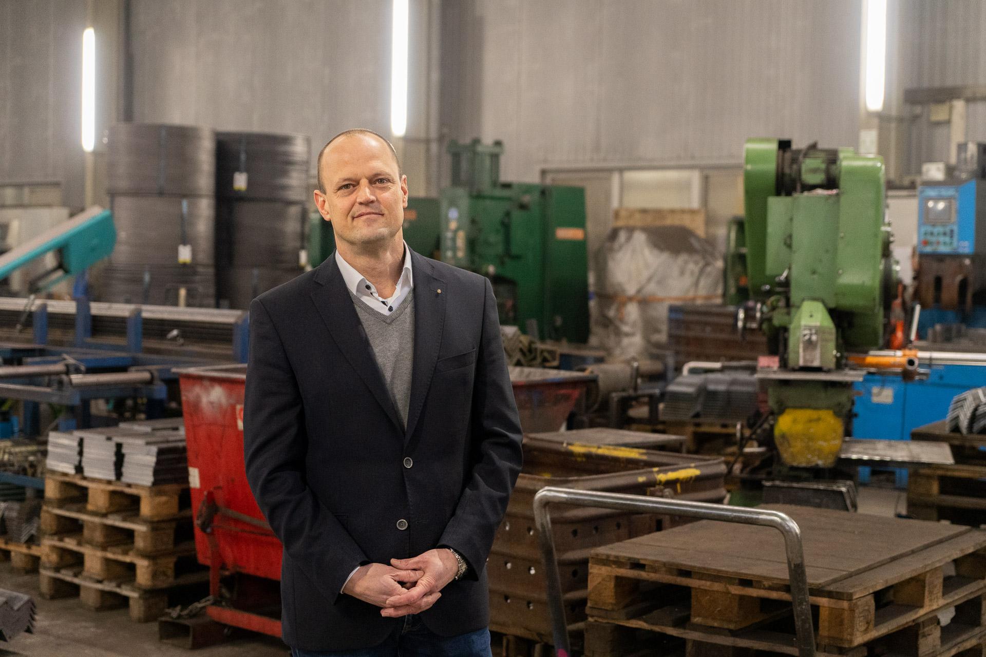 Cord Ole Scharrelmann - Geschäftsführer SZ GmbH Tunnel- und Schachausbau
